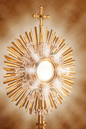 Portrait of Our Lord Blessed Sacrament